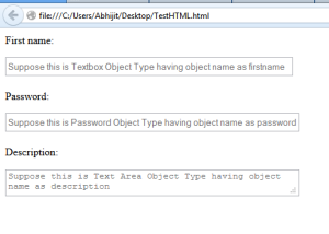 Textbox,Password_and_Textarea